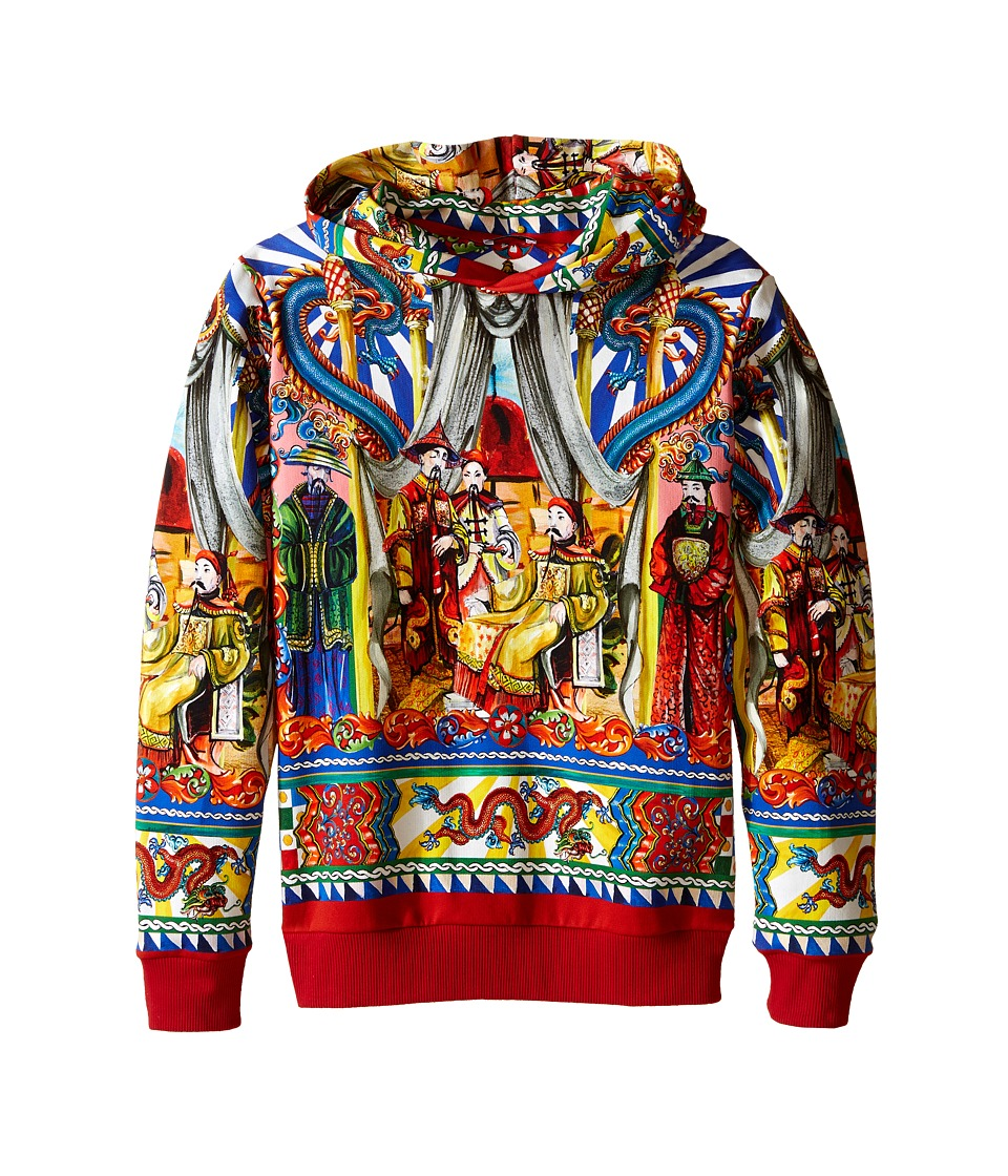 Dolce & Gabbana Kids - Theater Jacket (Big Kids) (Blue/Print) Boy's Sweatshirt