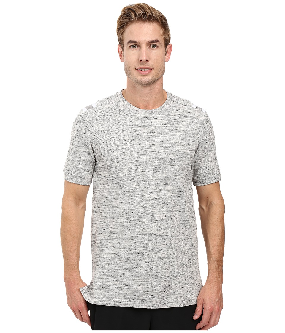 adidas - Heather Tee (Medium Grey Heather) Men's T Shirt