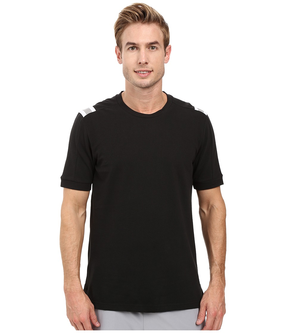 adidas - Heather Tee (Black) Men's T Shirt
