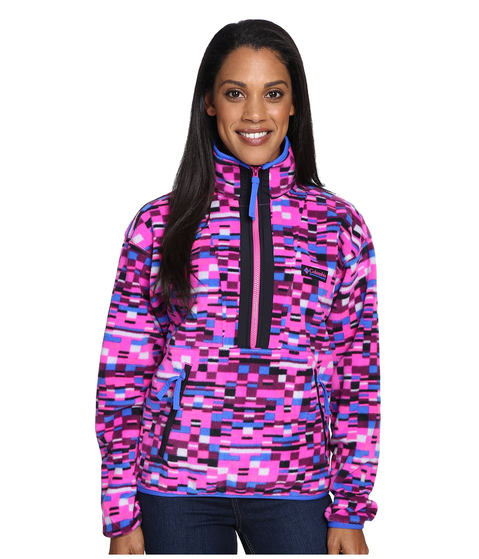 Columbia CSC Originals Printed Fleece (Groovy Pink Retro Print) Women