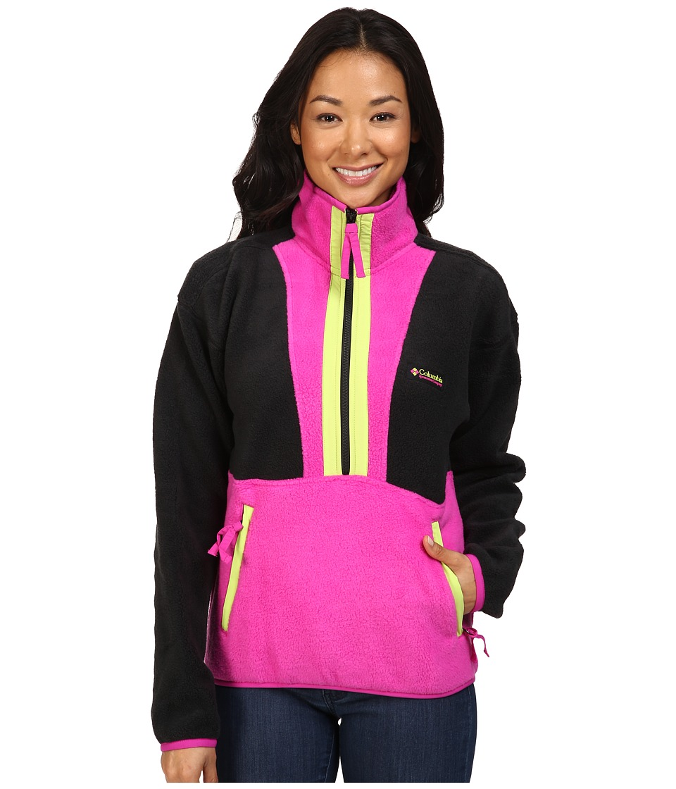Columbia - CSC Originals Fleece (Black/Groovy Pink/Fission) Women's Coat