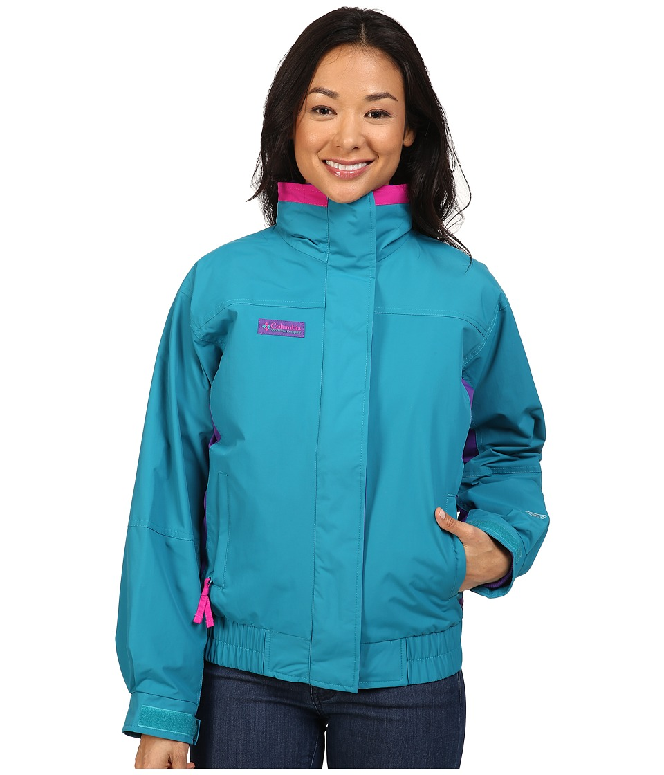 Columbia - Bugaboo 1986 Interchange (Sea Level/Royal Purple/Groovy Pink) Women's Coat