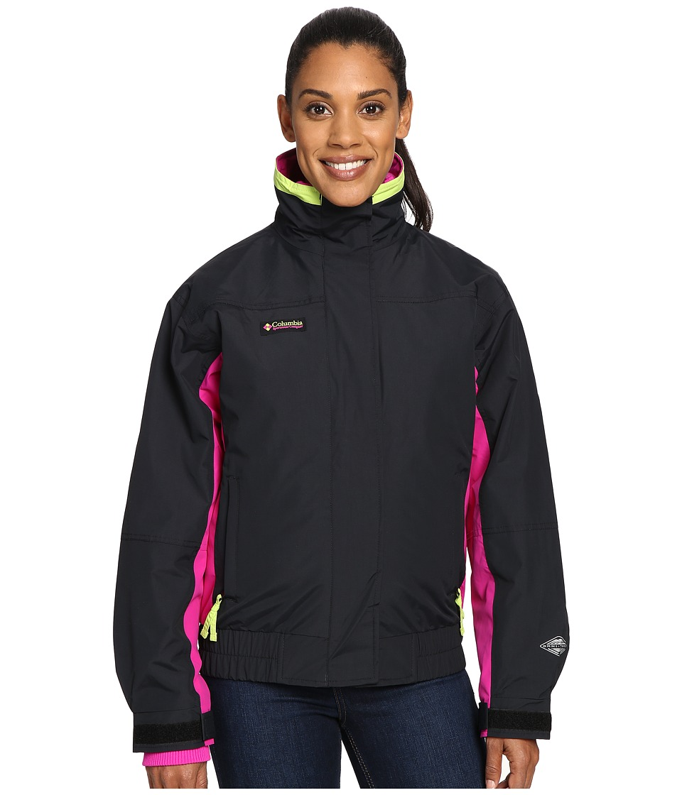 Columbia - Bugaboo 1986 Interchange (Black/Groovy Pink/Fission) Women's Coat
