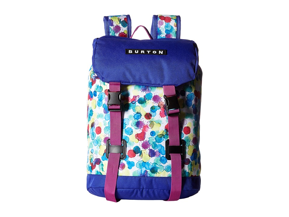 Burton - Tinder Backpack (Little Kid/Big Kid) (Rainbow Drops Print) Backpack Bags