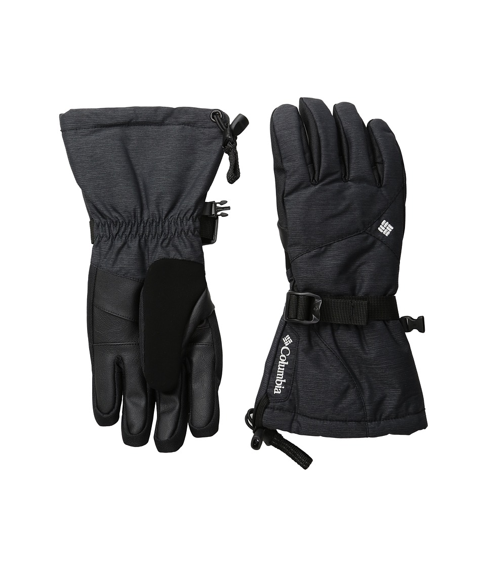 Columbia - Whirlibird III Glove (Black Crossdye) Extreme Cold Weather Gloves