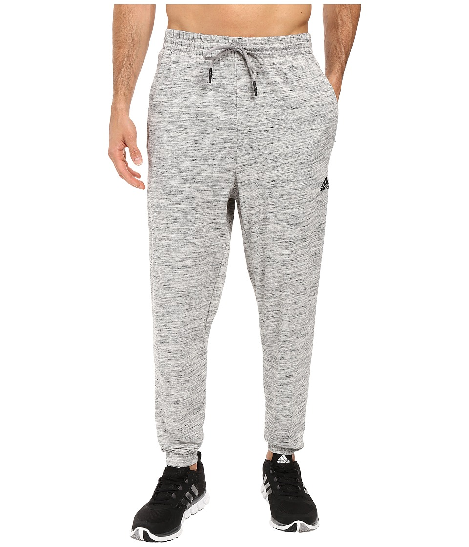 adidas - Heather Pants (Medium Grey Heather) Men's Workout