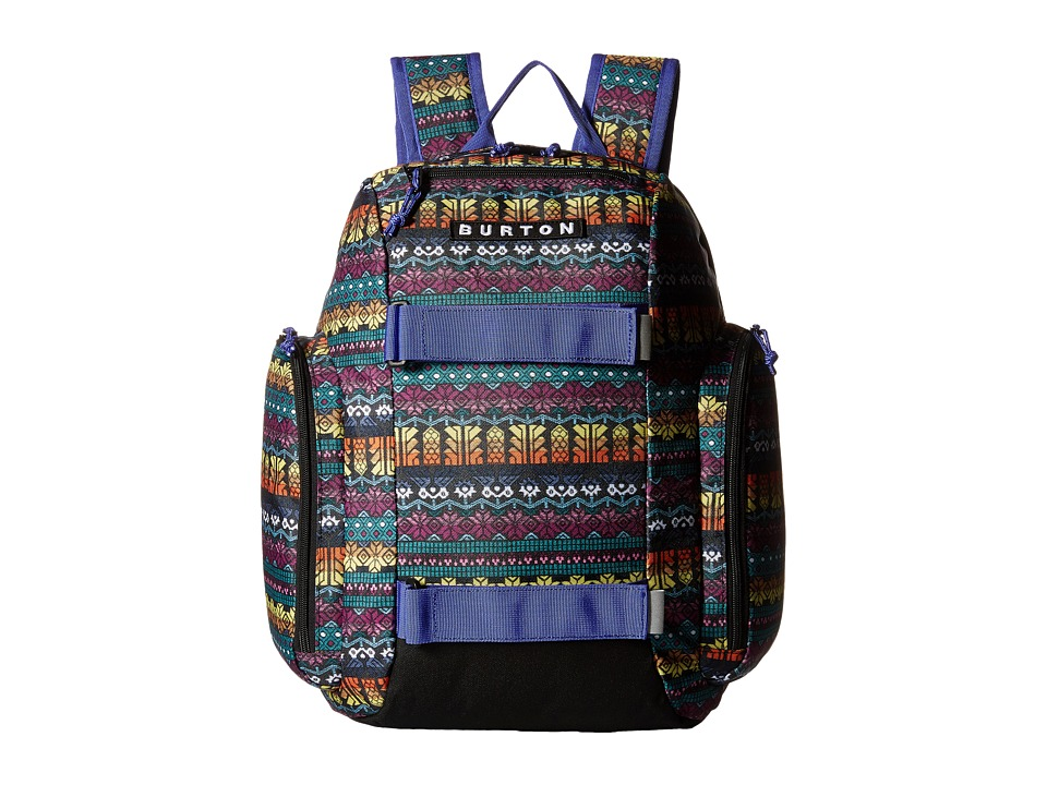 Burton - Metalhead Pack (Little Kid/Big Kid) (Figaro Stripe Print) Backpack Bags