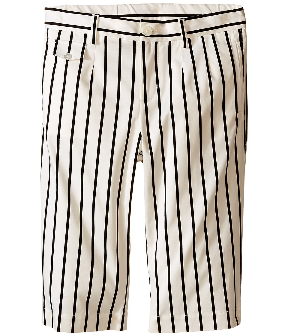 Dolce & Gabbana Kids - Striped Shorts (Big Kids) (Black/White Stripe Print) Boy's Shorts