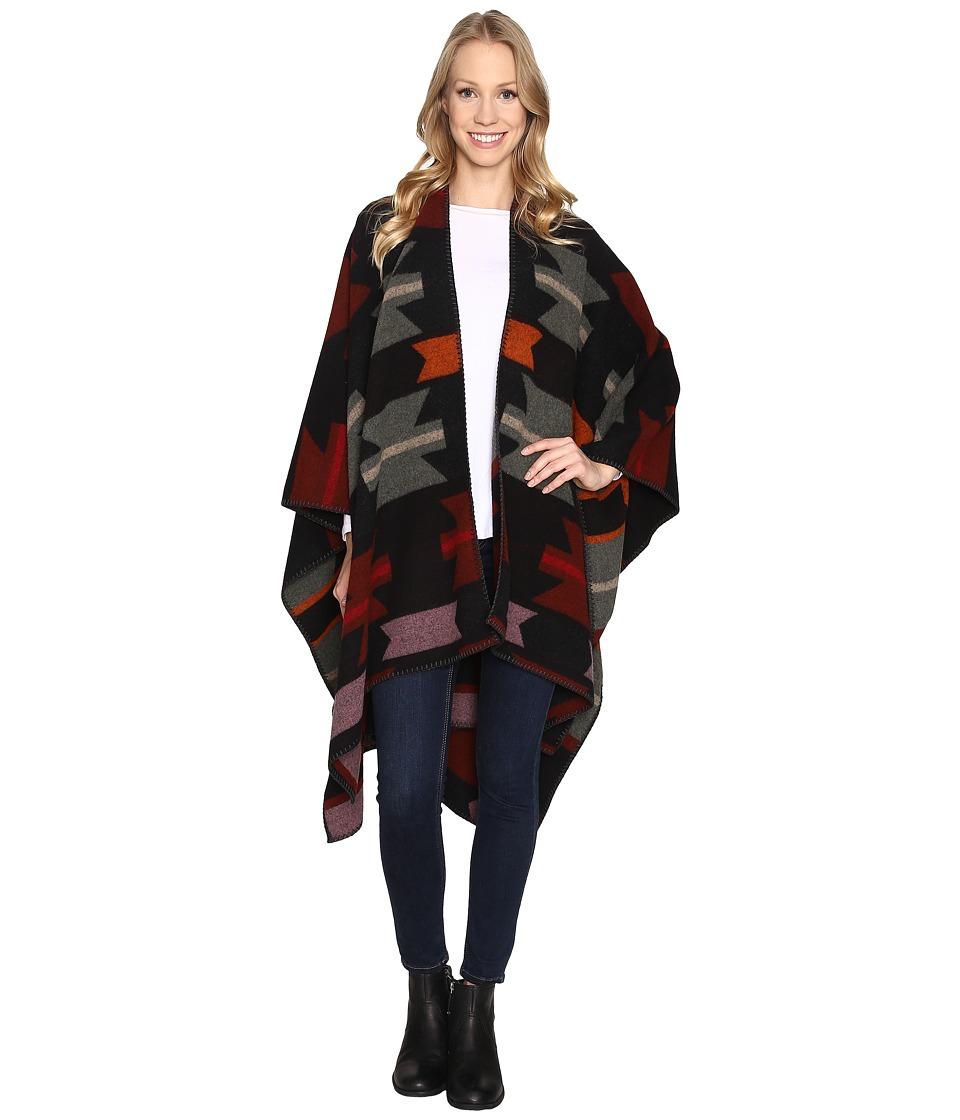 Woolrich - Forest Ridge Jacquard Poncho (Geronimo Jacquard) Coat