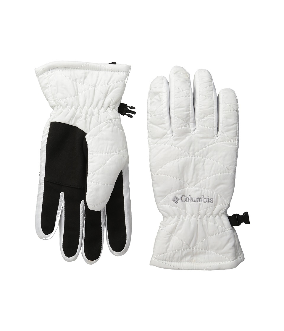 Columbia - Mighty Lite Glove (White) Extreme Cold Weather Gloves