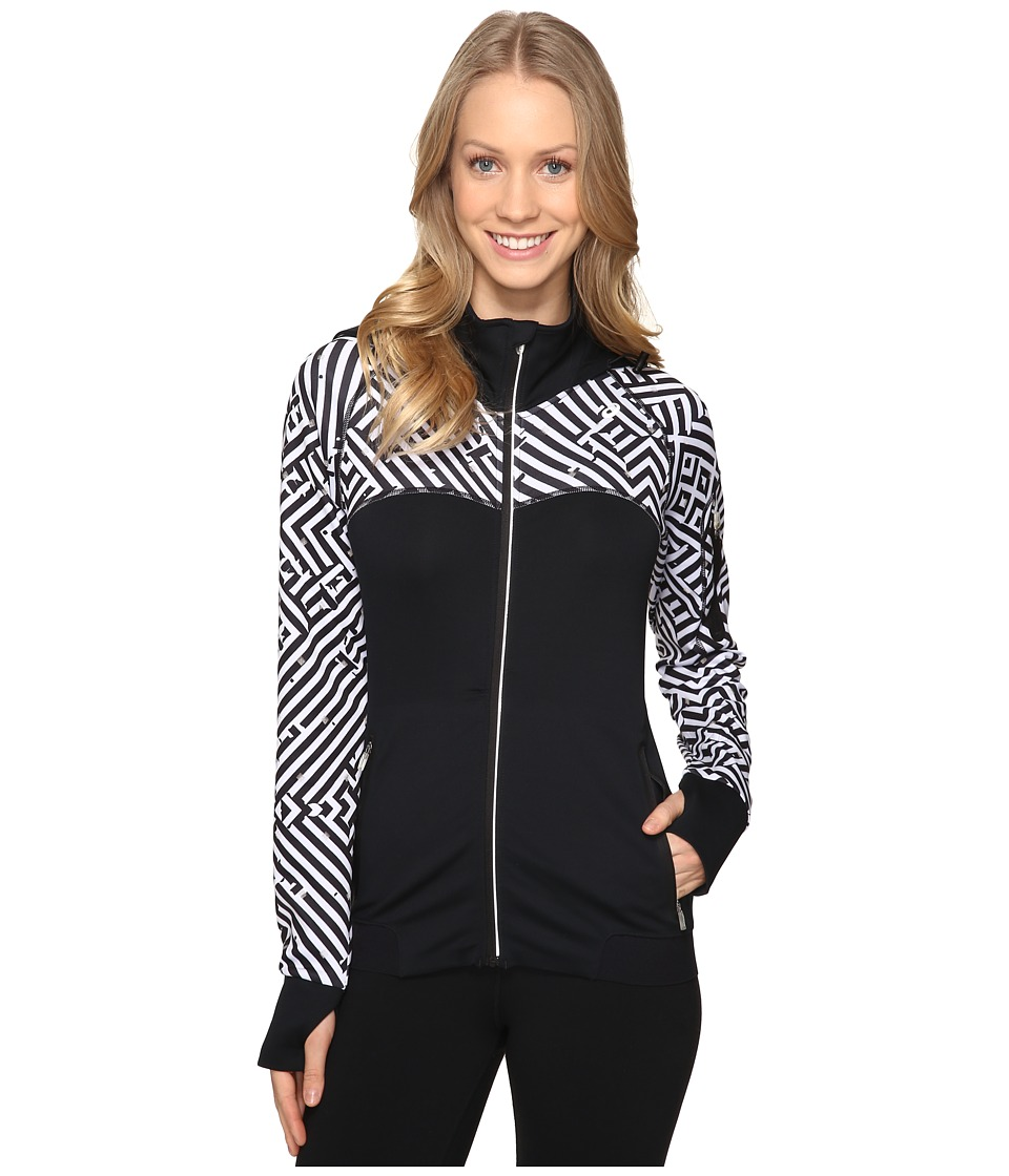 ASICS - Lite-Show Winter Jacket (Maze Print) Women's Coat