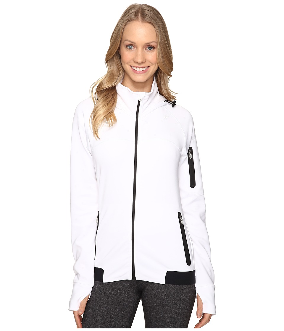 ASICS - Lite-Show Winter Jacket (Real White) Women's Coat
