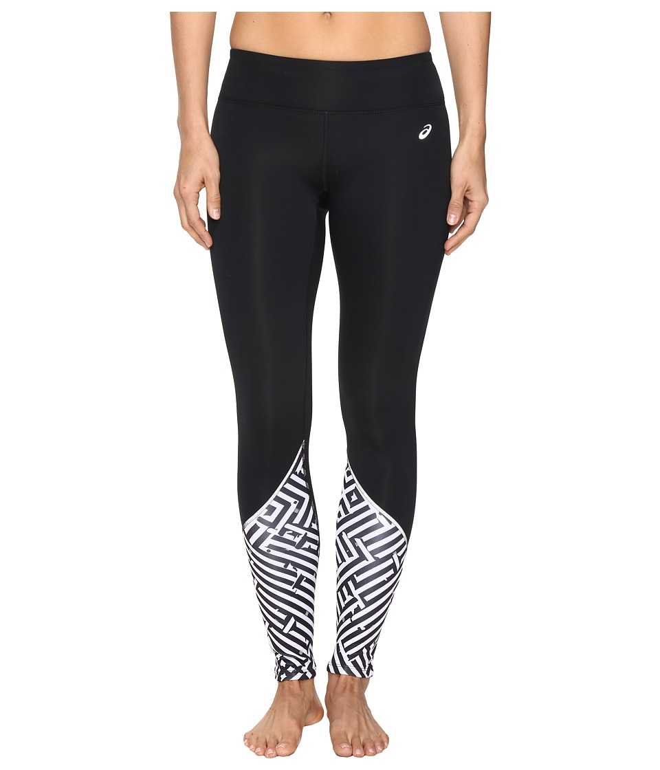 ASICS - Lite-Show Winter Tights (Maze Print) Women's Casual Pants