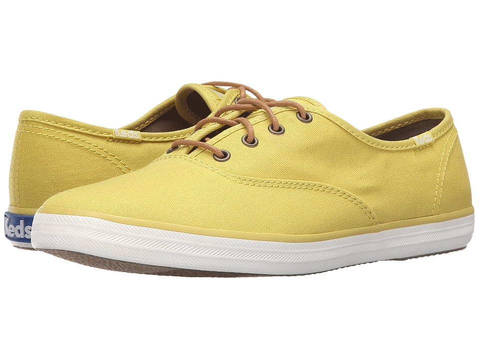 Keds - Champion Seasonal Solids (Chartreuse) Women