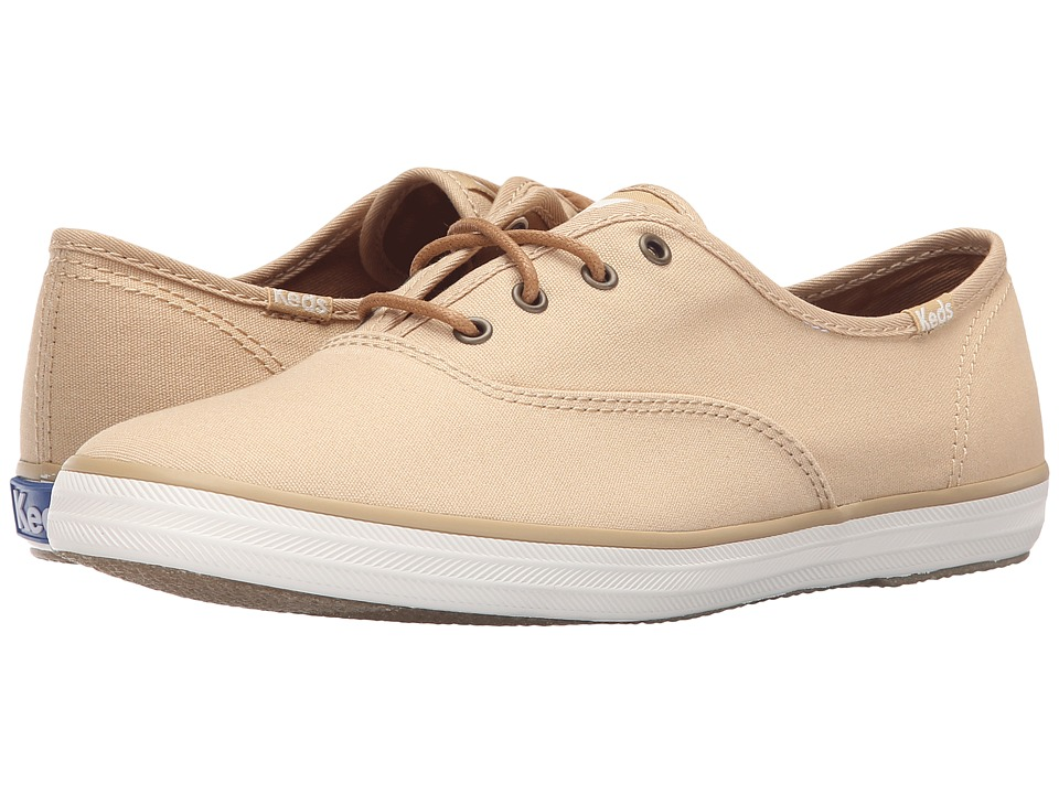 Keds Champion Seasonal Solids (Tan) Women