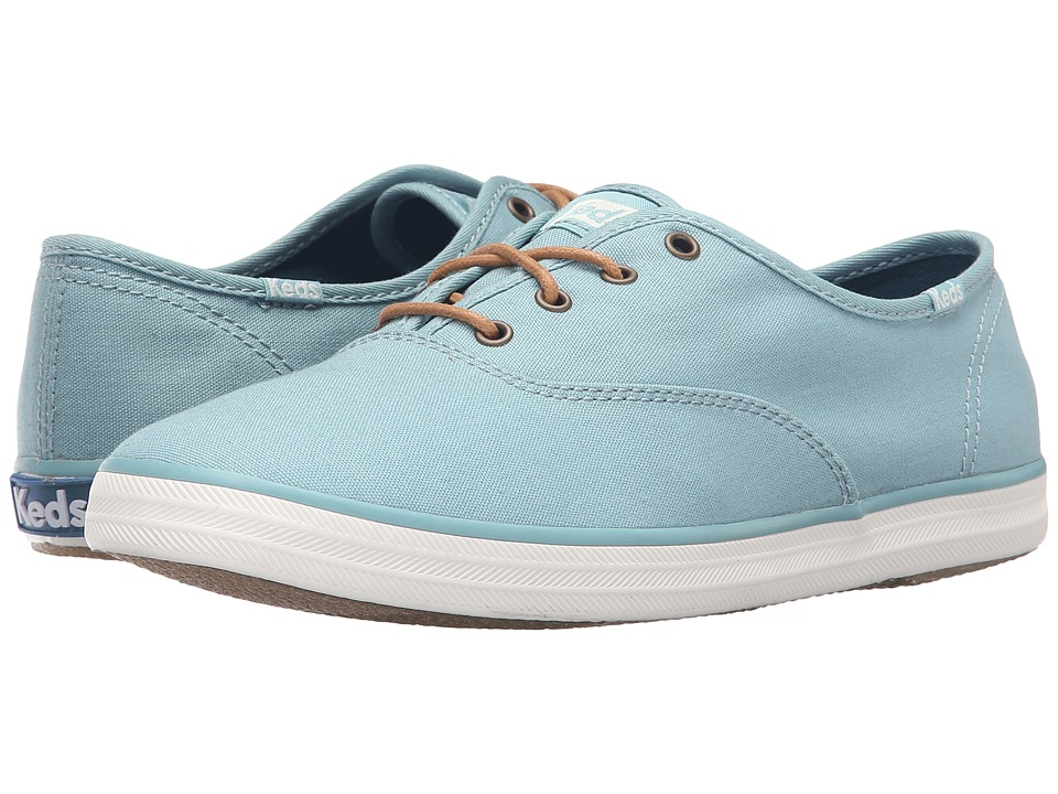Keds Champion Seasonal Solids (Dusty Blue) Women