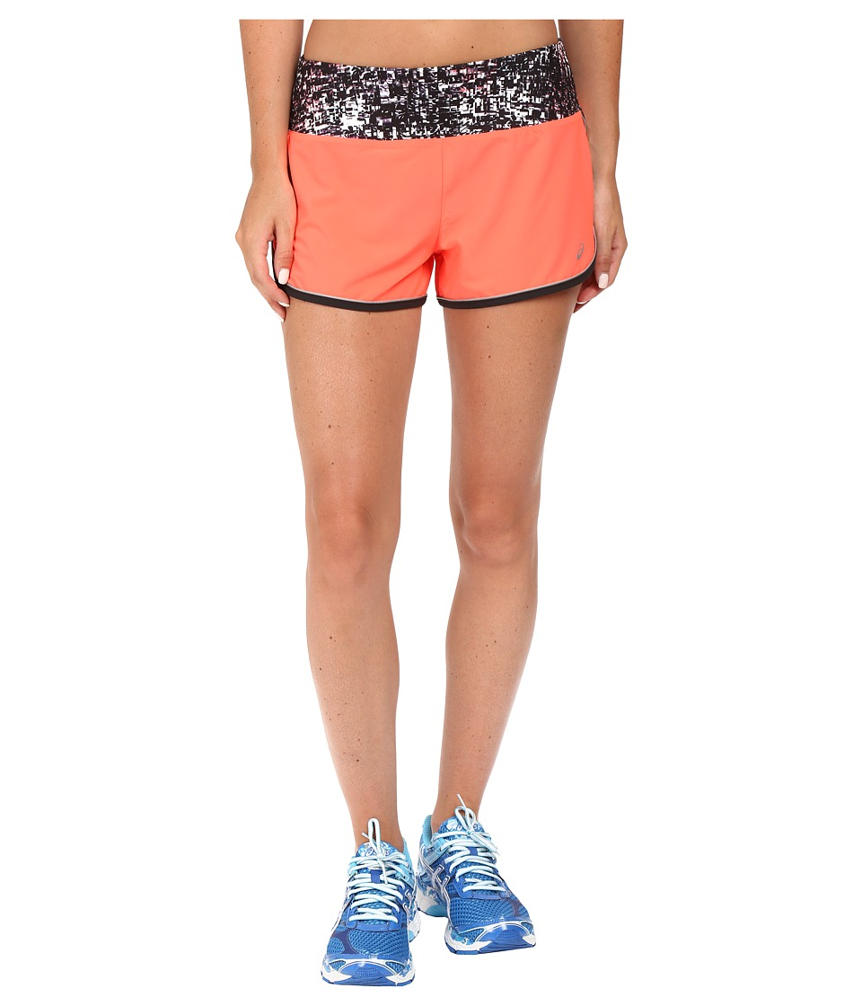 ASICS - Lite-Show Shorts (Fiery Flame) Women's Shorts