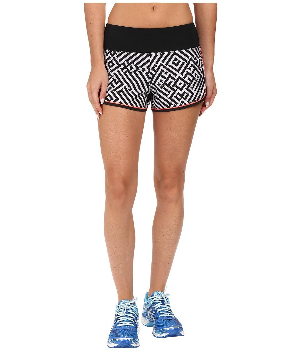 ASICS - Lite-Show Shorts (Maze Print) Women's Shorts