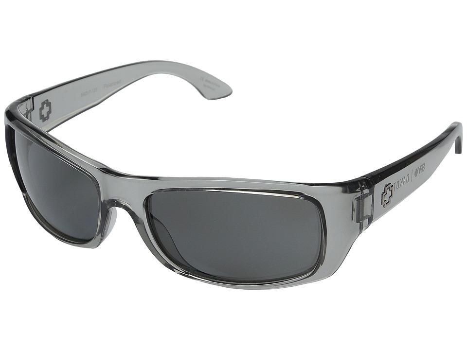 Spy Optic - Dakota (Clear Smoke/Grey Polarized) Sport Sunglasses