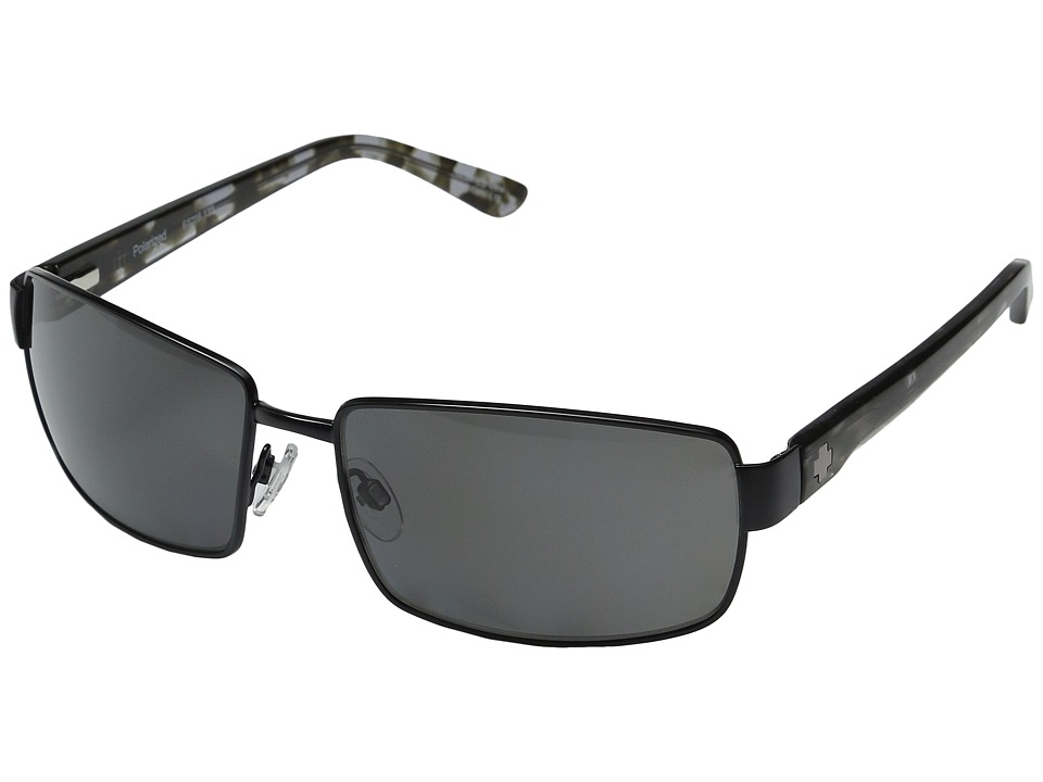 Spy Optic - Avenger (Polarized Matte Black/Grey Tortoise) Sport Sunglasses