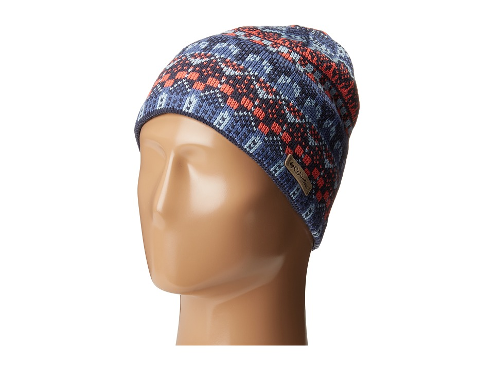 Columbia - Alpine Action Beanie (Bluebell Wintery Fairisle) Beanies