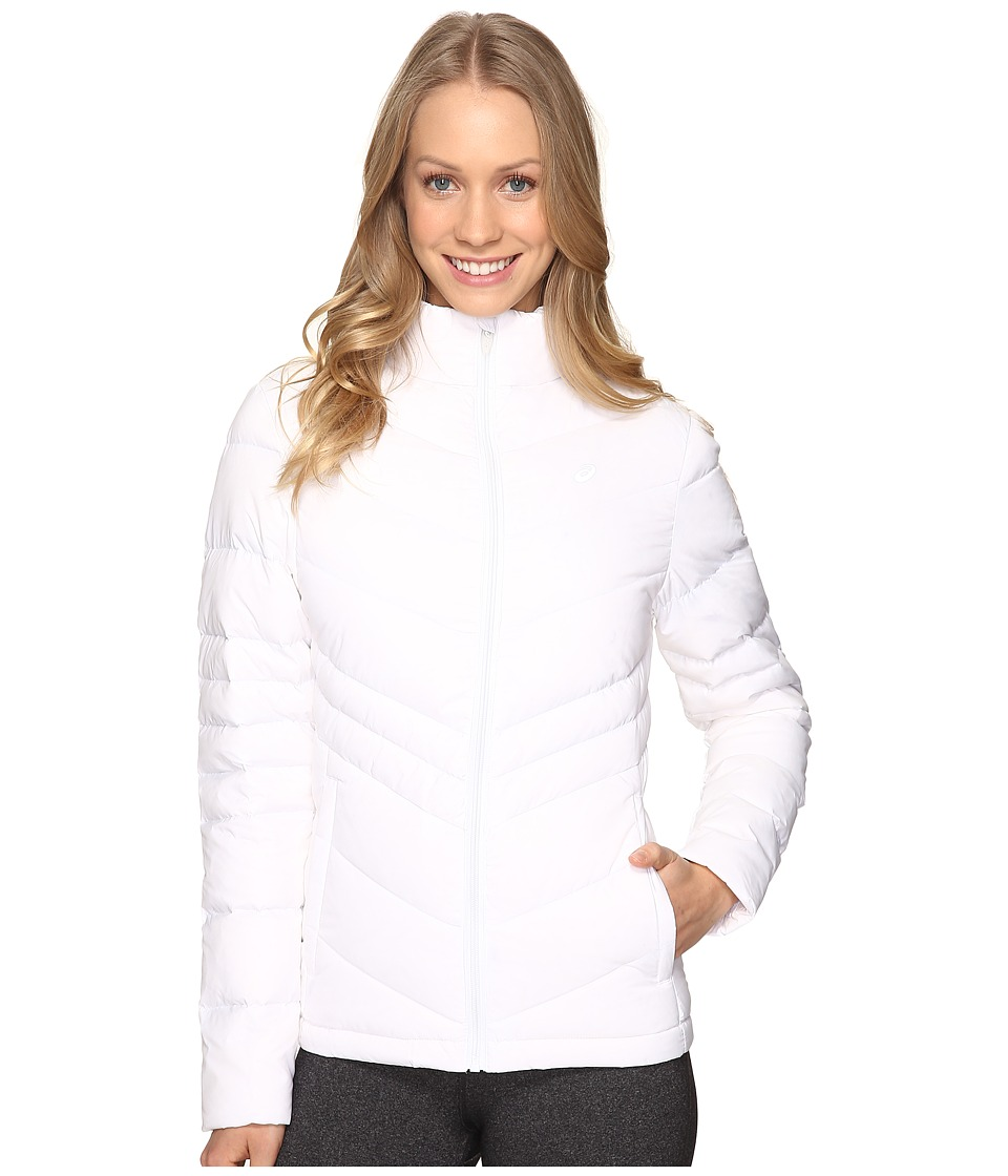 ASICS - Down Jacket (Real White) Women's Coat