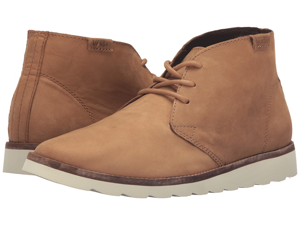 Vans - Desert Chukka ((Nubuck) Tan) Women's Lace-up Boots