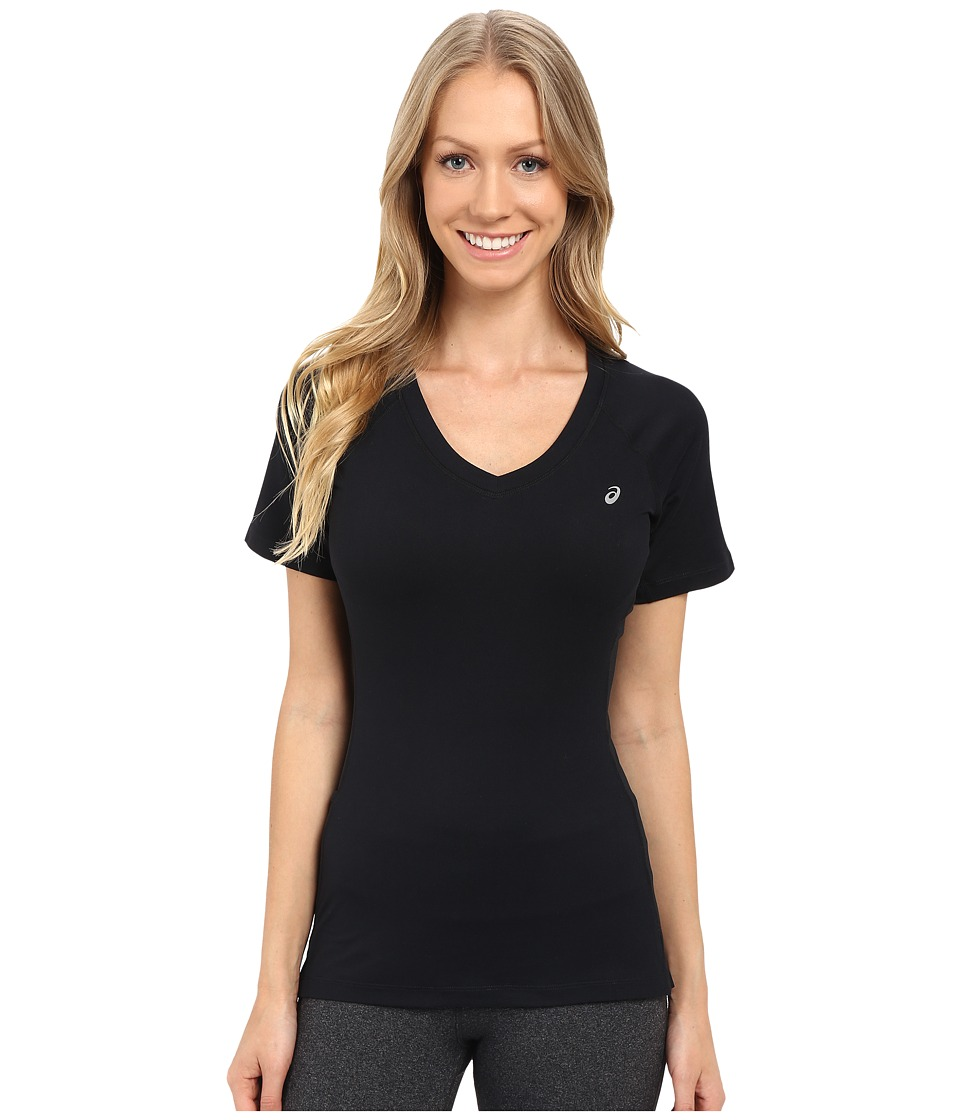 ASICS - ASX Dry Short Sleeve (Performance Black) Women's T Shirt