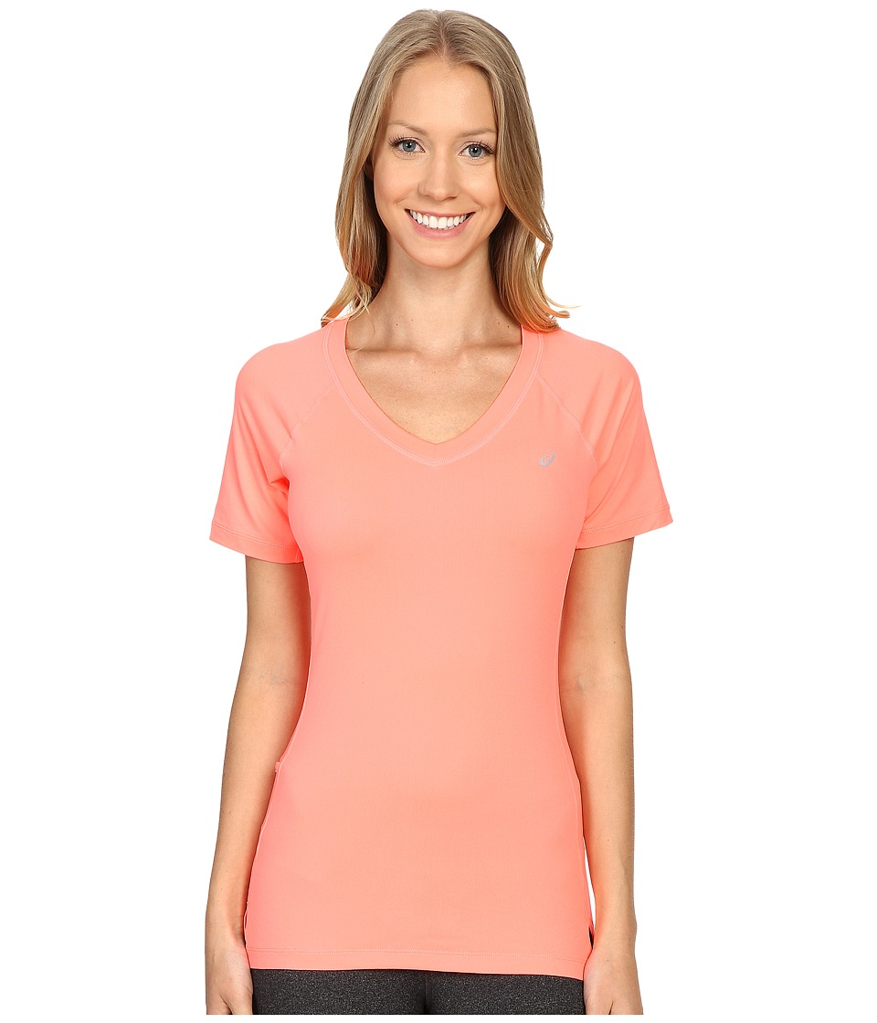 ASICS ASX Dry Short Sleeve (Guava) Women