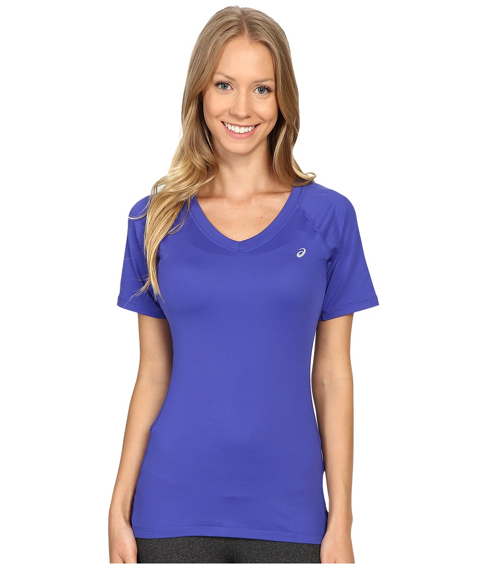 ASICS ASX Dry Short Sleeve (Royal Blue) Women