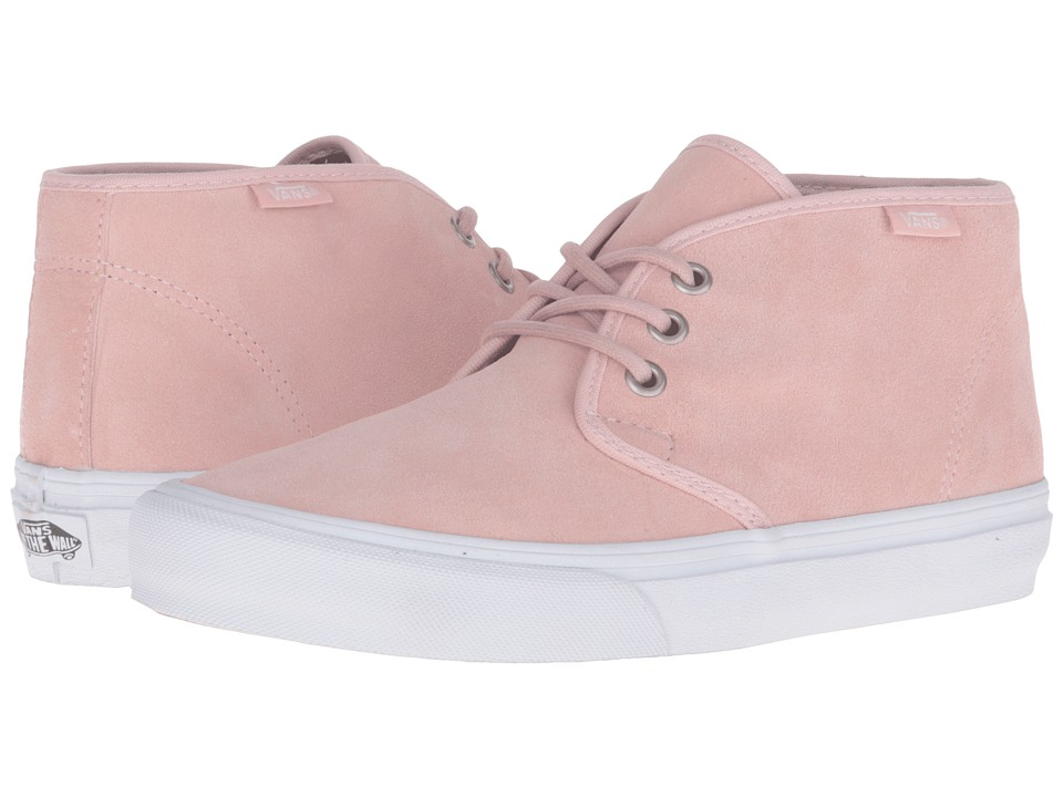 Vans - Prairie Chukka ((Suede) Dusty Rose) Women's Lace-up Boots