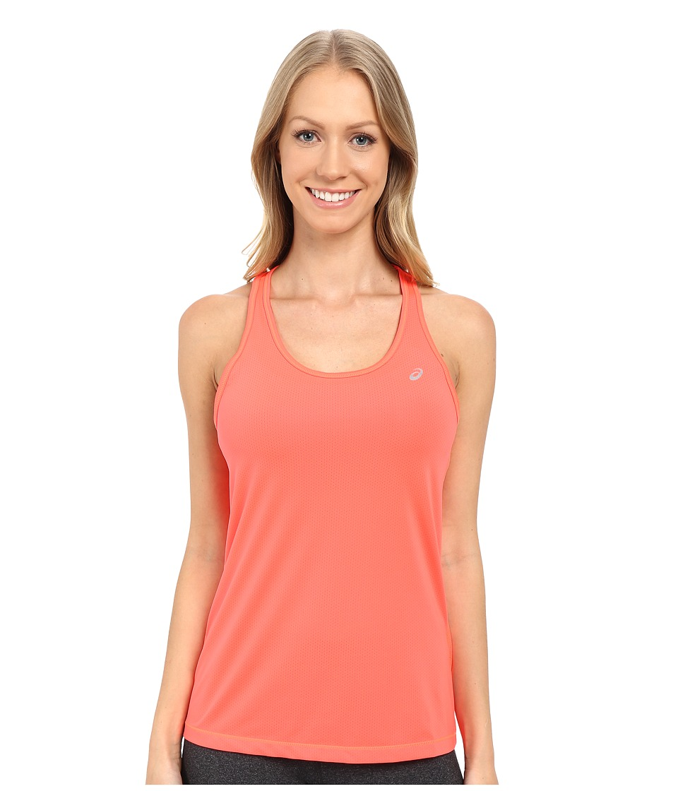 ASICS - Emma Racerback (Fiery Flame) Women's Sleeveless