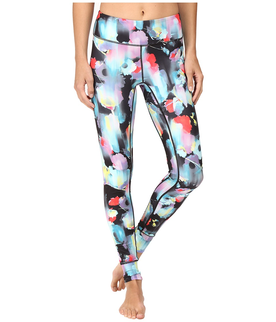 ASICS - Performance Run Printed Tights (Inkblot Floral) Women's Casual Pants