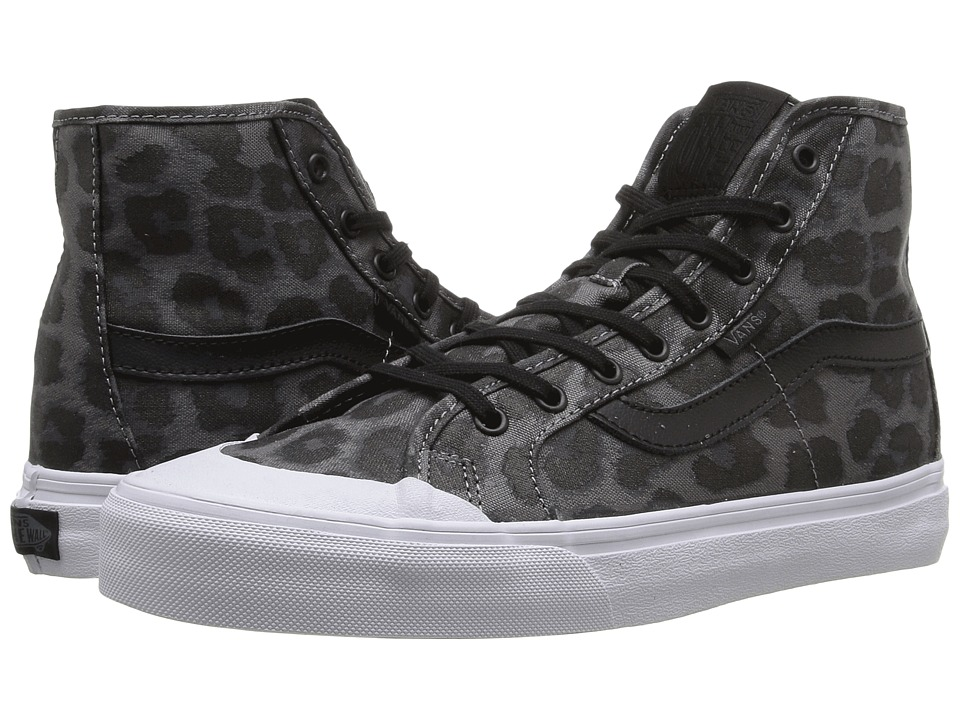 Vans - Black Ball Hi SF (Black/Leopard) Women's Lace up casual Shoes