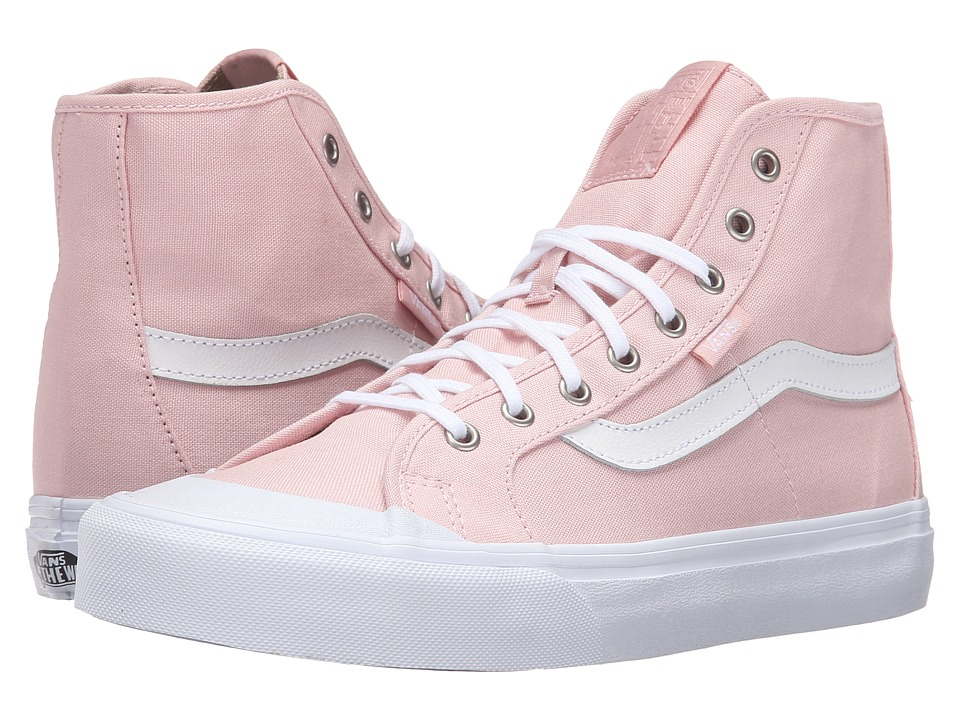 Vans - Black Ball Hi SF (Dusty Rose/True White) Women's Lace up casual Shoes