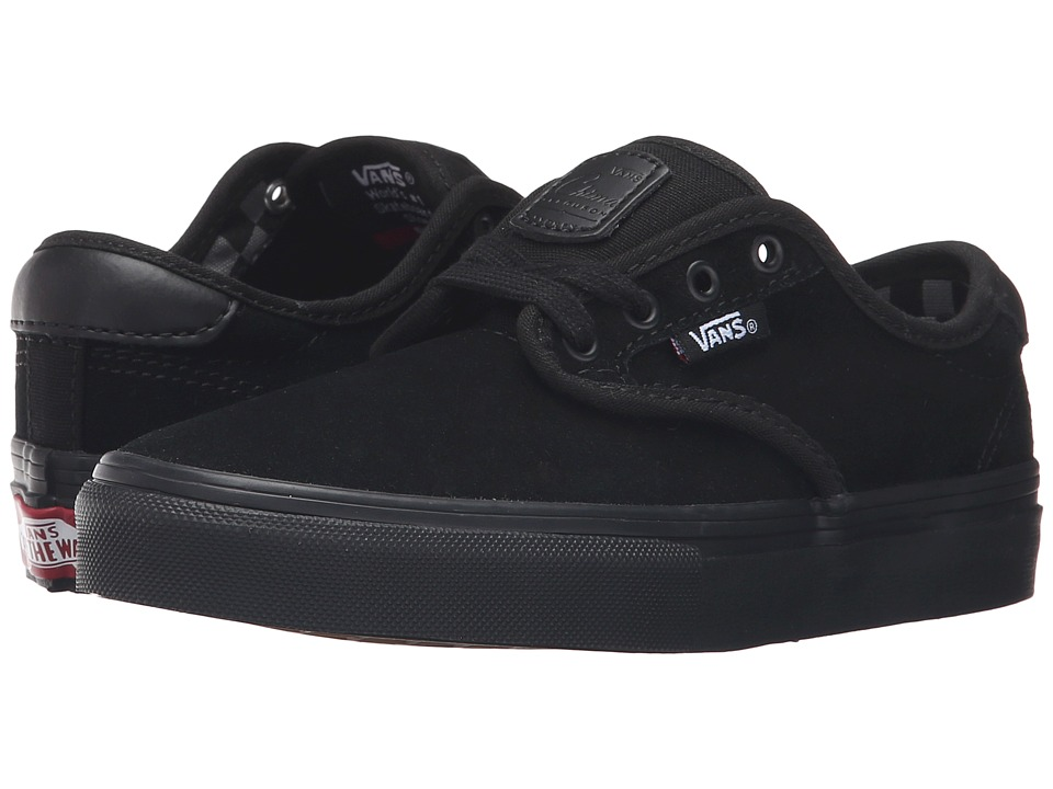 Vans Kids - Chima Pro (Little Kid/Big Kid) ((Mono) Black/Black) Boys Shoes