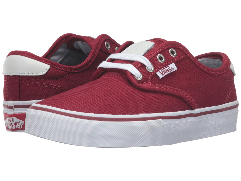 Vans Kids Chima Pro (Little Kid/Big Kid) (Red Dahlia) Boys Shoes
