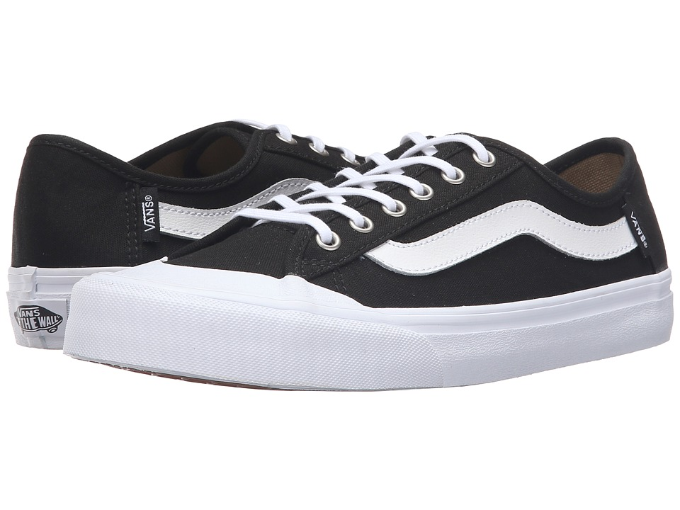 Vans - Black Ball SF (Black/True White) Women's Lace up casual Shoes