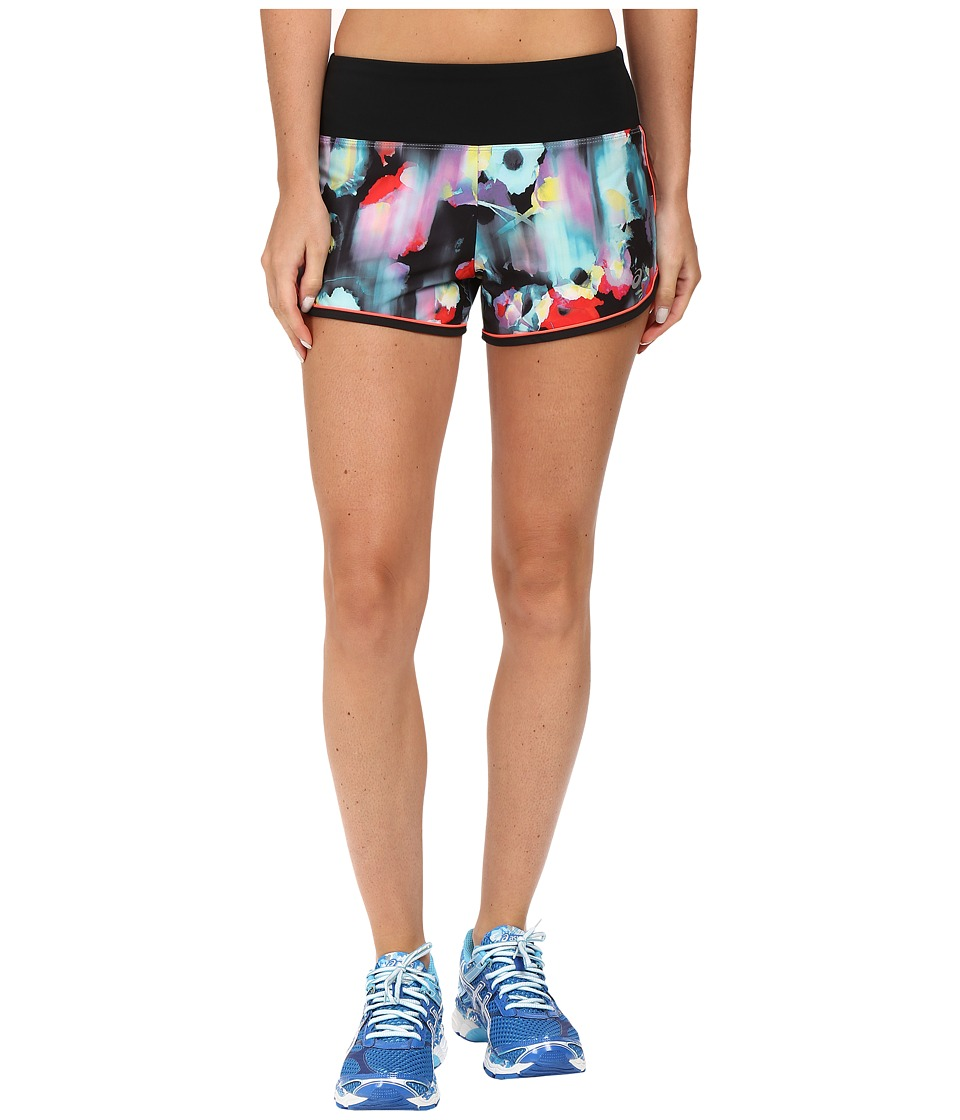 ASICS - Everysport Shorts (Inkblot Floral) Women's Shorts