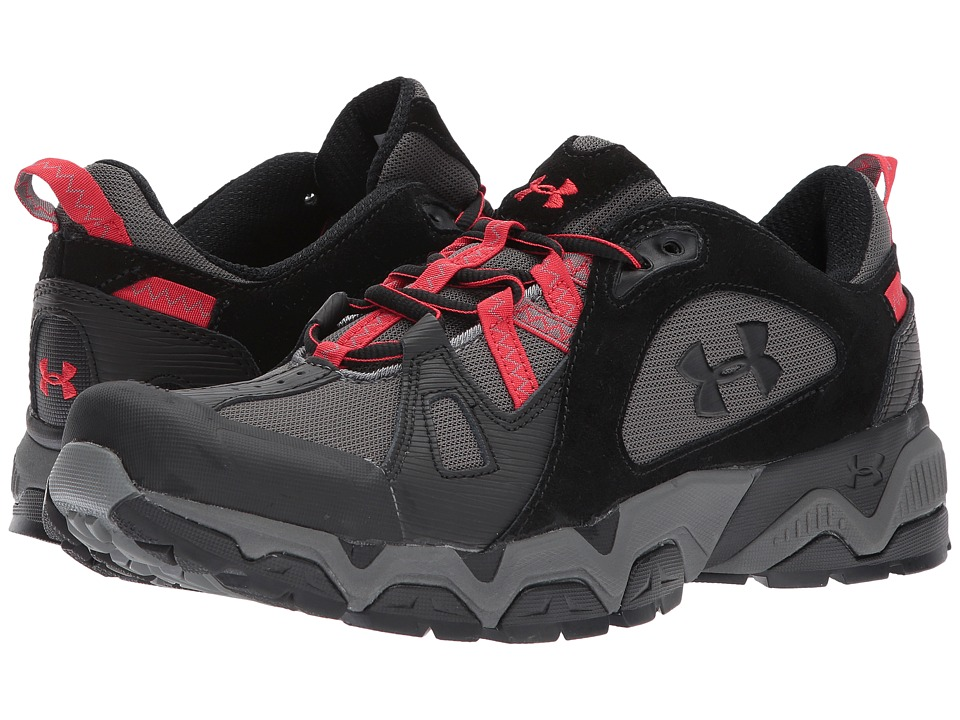 Under Armour - Chetco Trail 2.0 (Black/Red) Men's Shoes