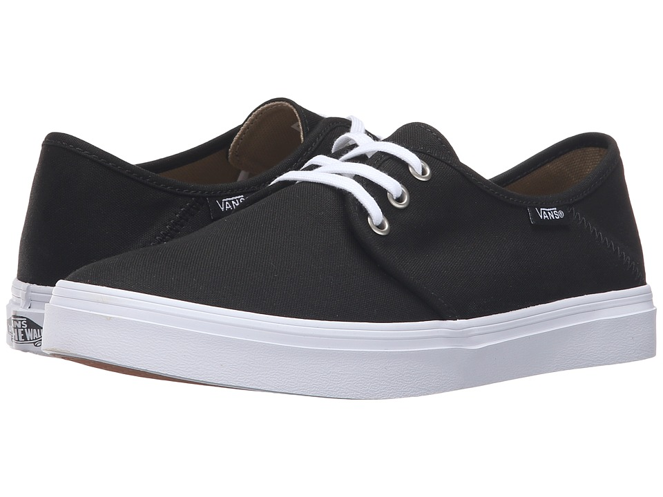 Vans - Tazie SF (Black/White) Women's Lace up casual Shoes