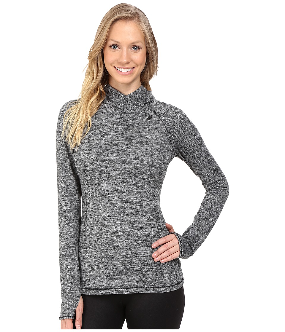 ASICS - ASX Lux Mock Neck (Performance Black) Women's Long Sleeve Pullover
