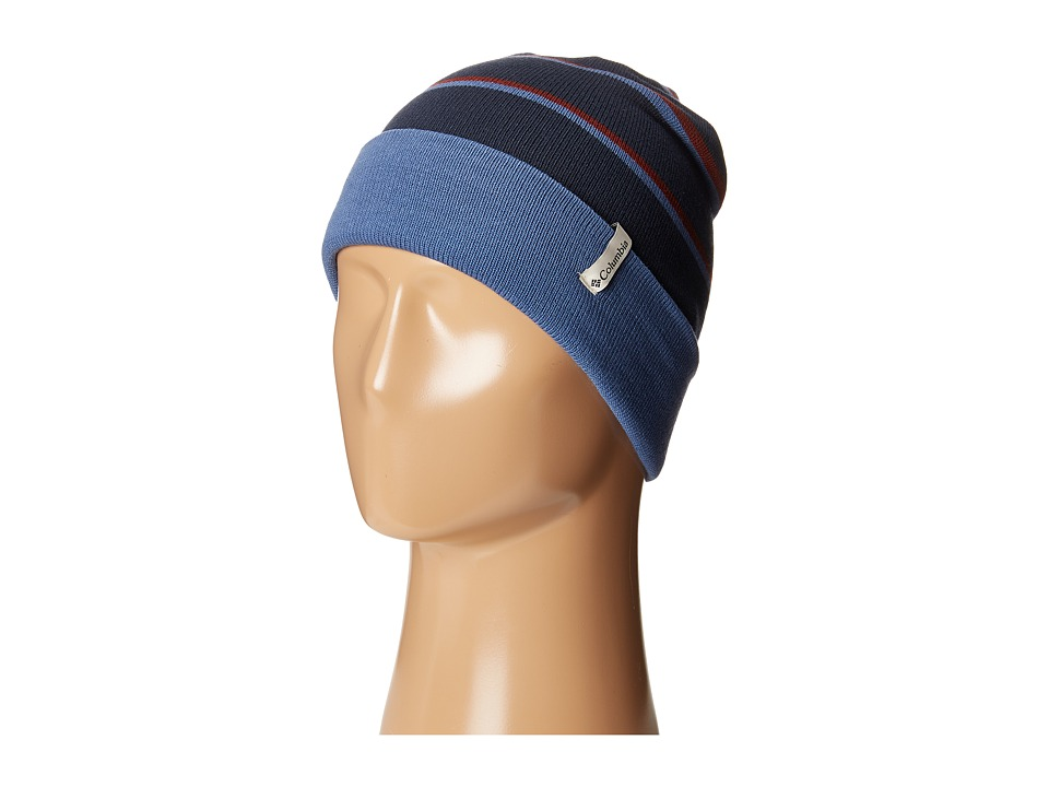 Columbia - Cascade Reversible Watchcap (Collegiate Navy/Night Tide) Knit Hats