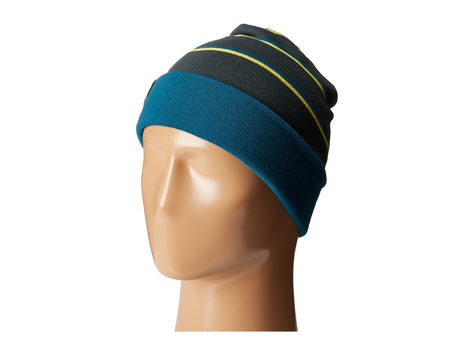 Columbia - Cascade Reversible Watchcap (Night Shadow/Deep Water) Knit Hats