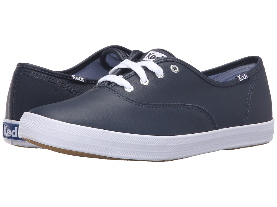 Keds - Champion-Leather CVO (Navy) Women's Lace up casual Shoes