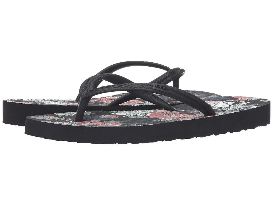 Vans - Hanelei ((Desert Floral) Black) Women's Sandals