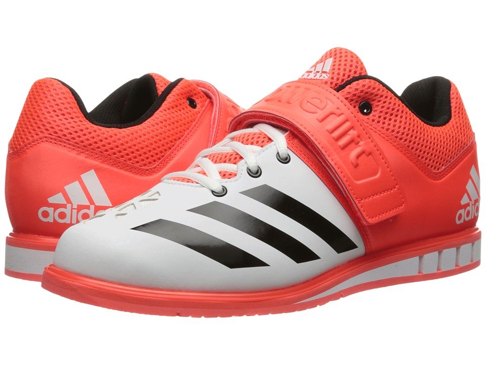 adidas - Powerlift 3 (Solar Red/Black/White) Men's Shoes