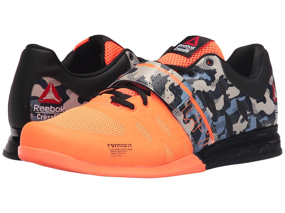Reebok - Crossfit Lifter 2.0 (Electric Peach/Black/Camo) Men