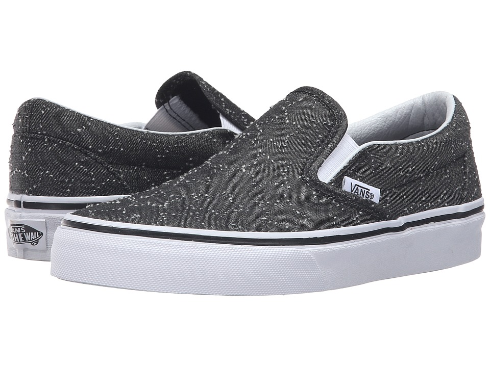 Vans - Classic Slip-On ((Star Dots) Black/True White) Skate Shoes