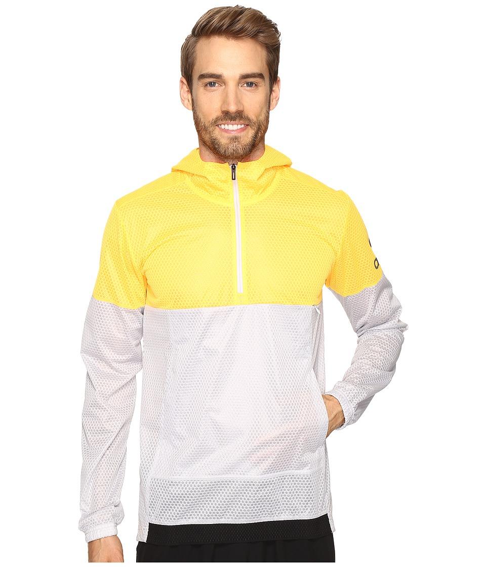 adidas - Climastorm Anorak (Solar Gold/Grey) Men's Sweatshirt